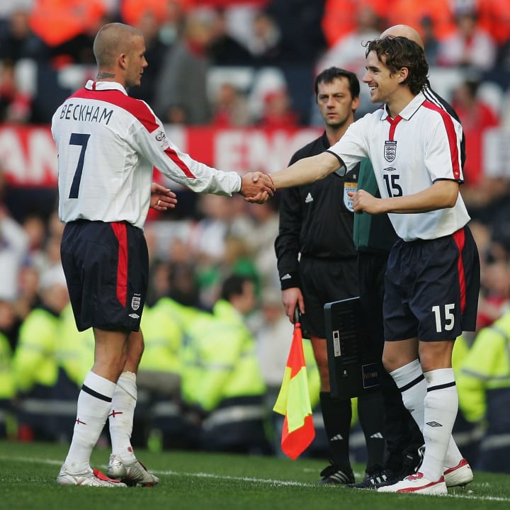 David Beckham, Owen Hargreaves