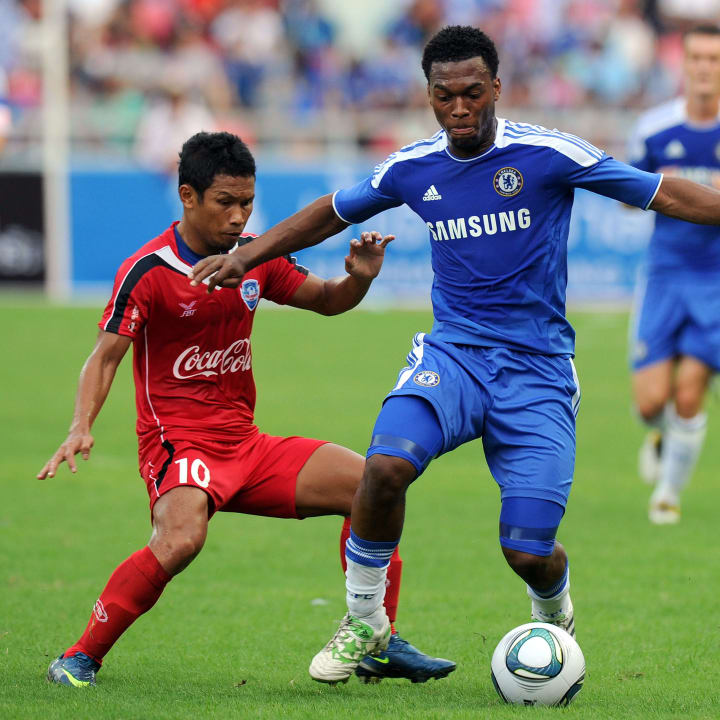 English Premier League team Chelsea play