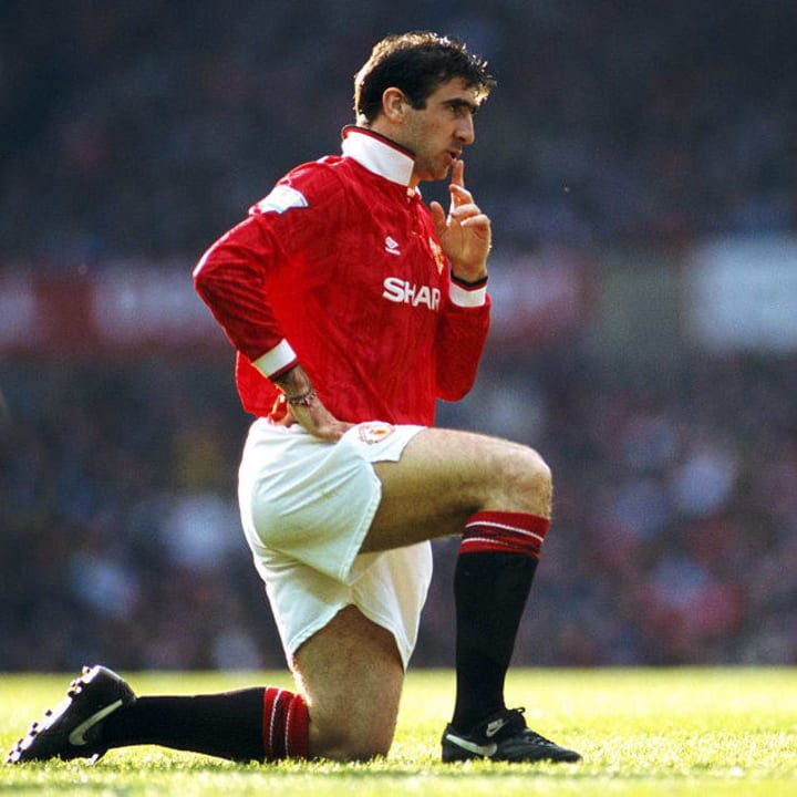 Eric Cantona was the main catalyst for 1990s success