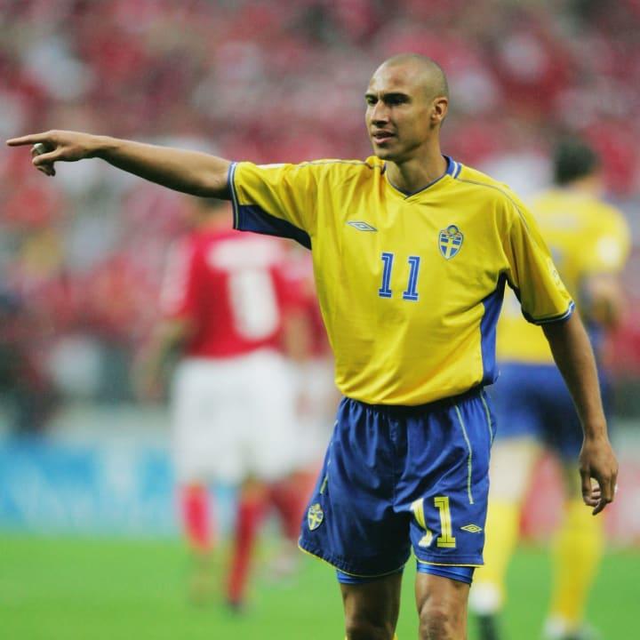 Henrik Larsson at Euro 2000