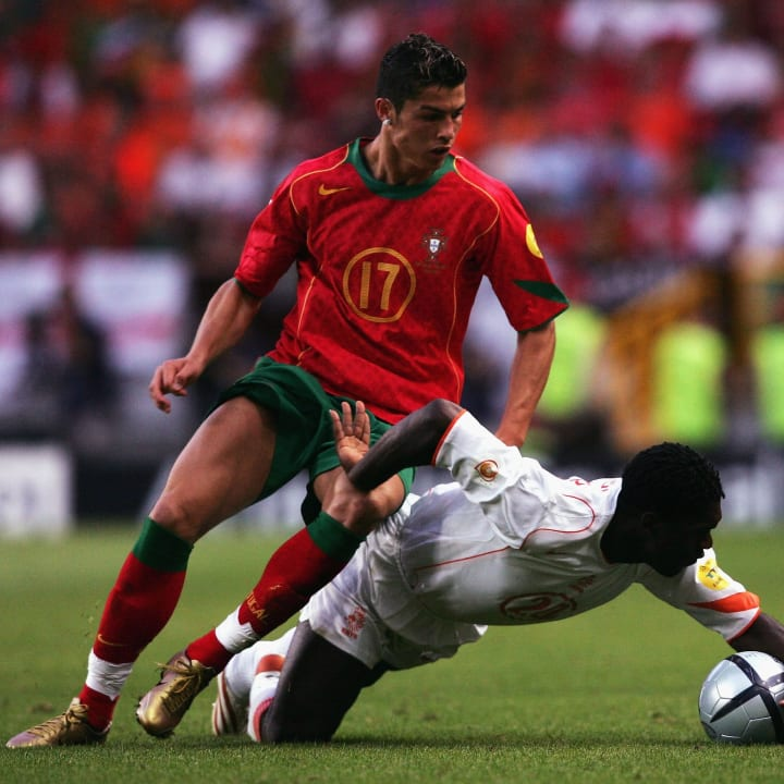 Cristiano Ronaldo, Clarence Seedorf