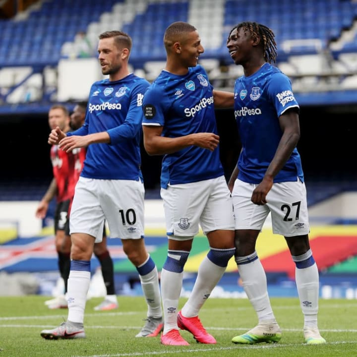 Everton finished 12th in the Premier League in 2019/20