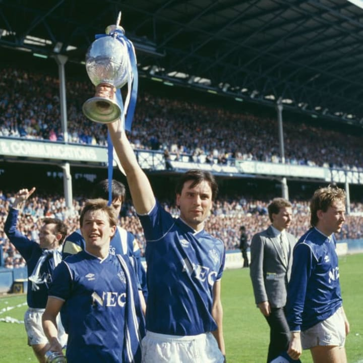 Everton's last league title came back in 1987