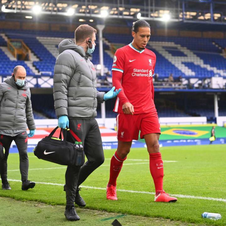 Van Dijk needs surgery on a knee injury