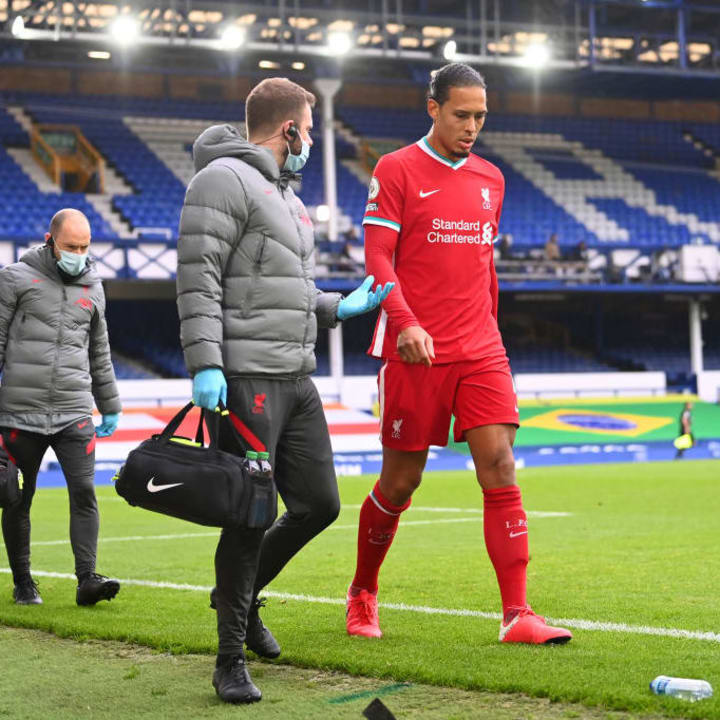 Van Dijk is out for a long time