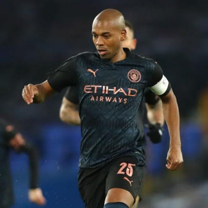 Fernandinho was a rock in midfield for Man City
