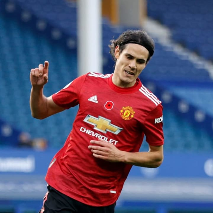 Edinson Cavani moved to Manchester United instead