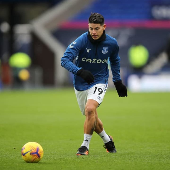 James Rodriguez will be key to any success Everton enjoy this season