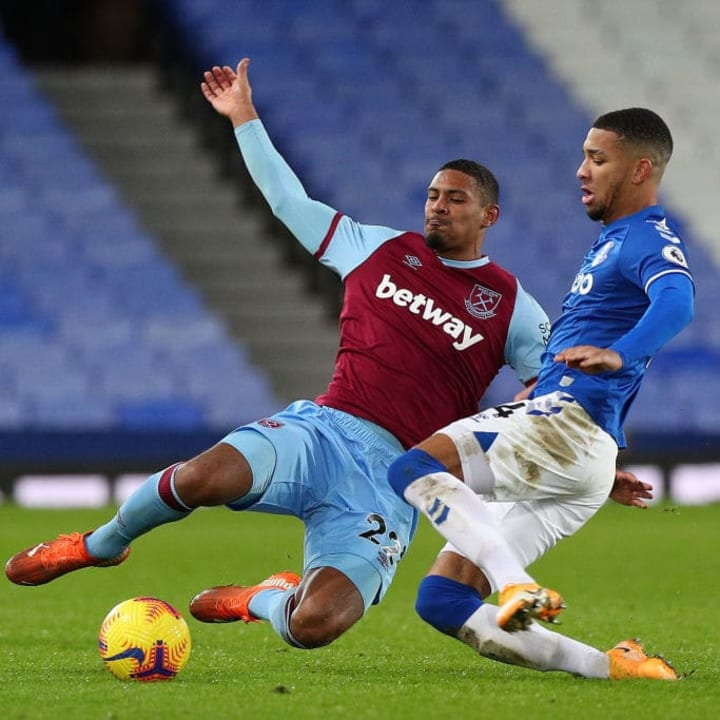 Haller looked off the pace against Everton