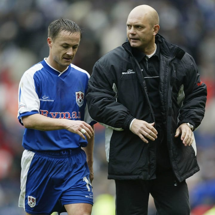Dennis Wise, Ray Wilkins