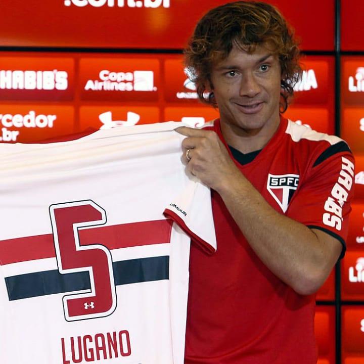 Diego Lugano Retorno São Paulo Libertadores Mundial 2005