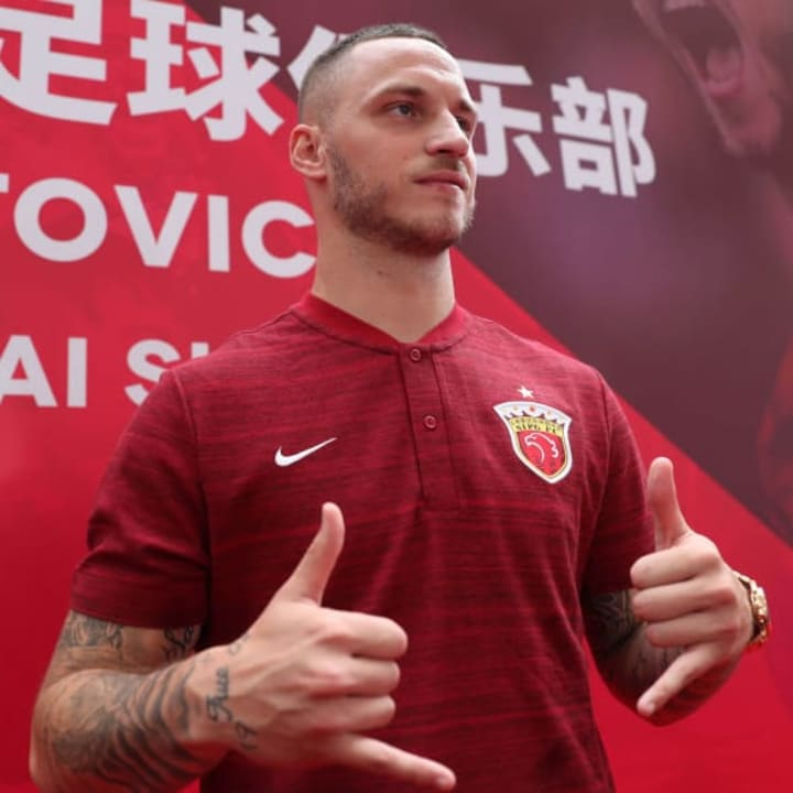 Marko Arnautovic is back in Europe from China