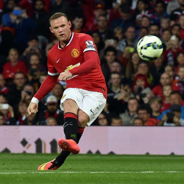 Wayne Rooney was always a threat from free-kicks