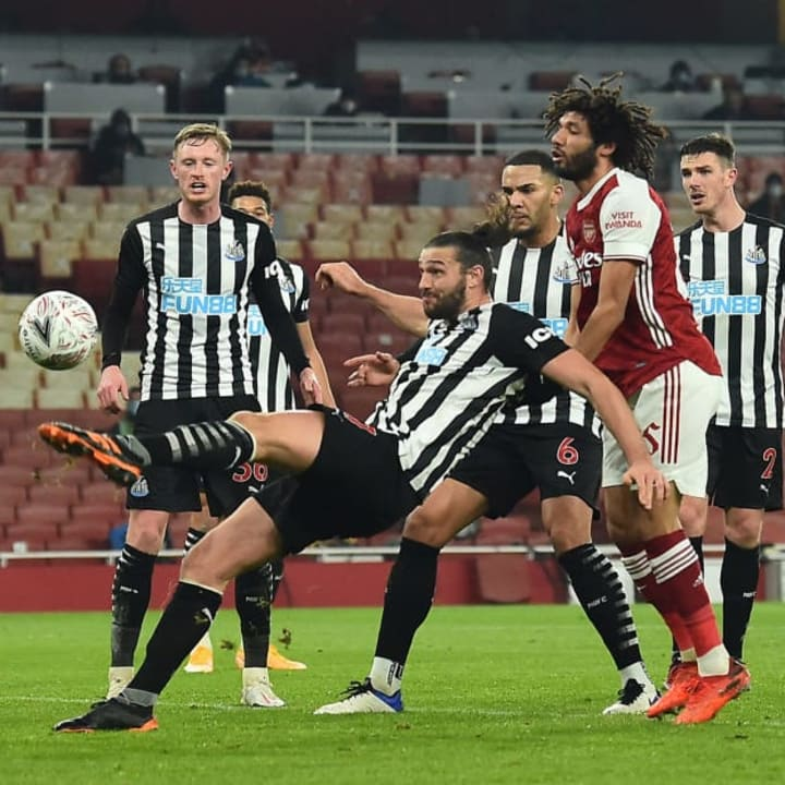 FBL-ENG-FA CUP-ARSENAL-NEWCASTLE