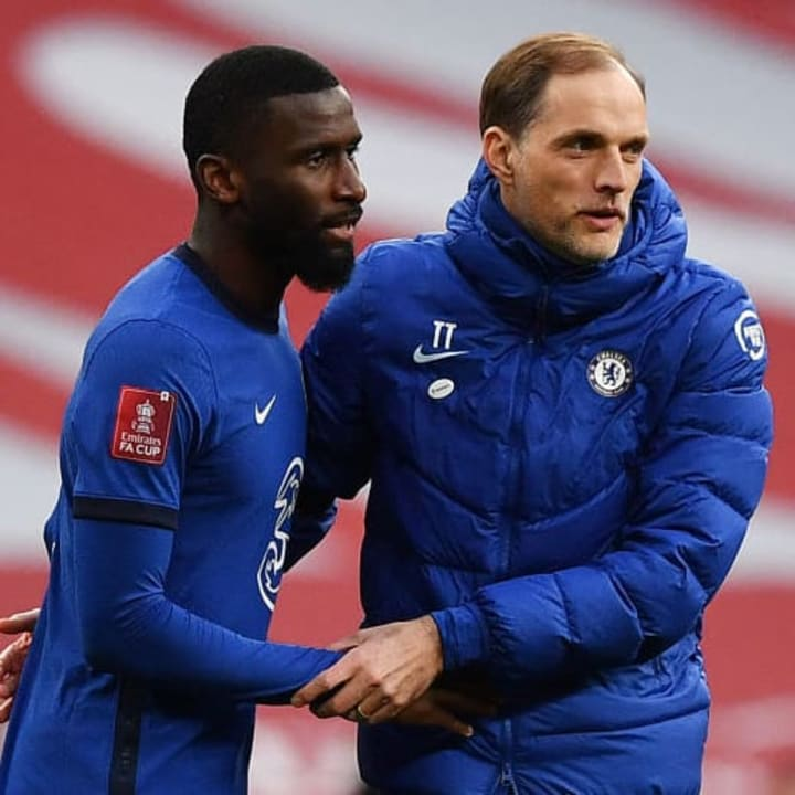 Tuchel is happy with Rudiger and supports the contract talks