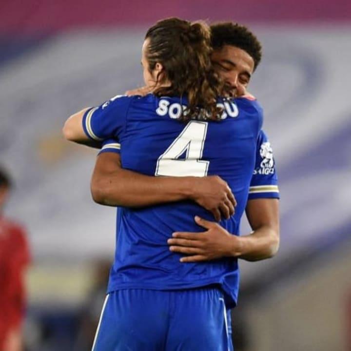 Caglar Soyuncu & Wesley Fofana played well against Man Utd