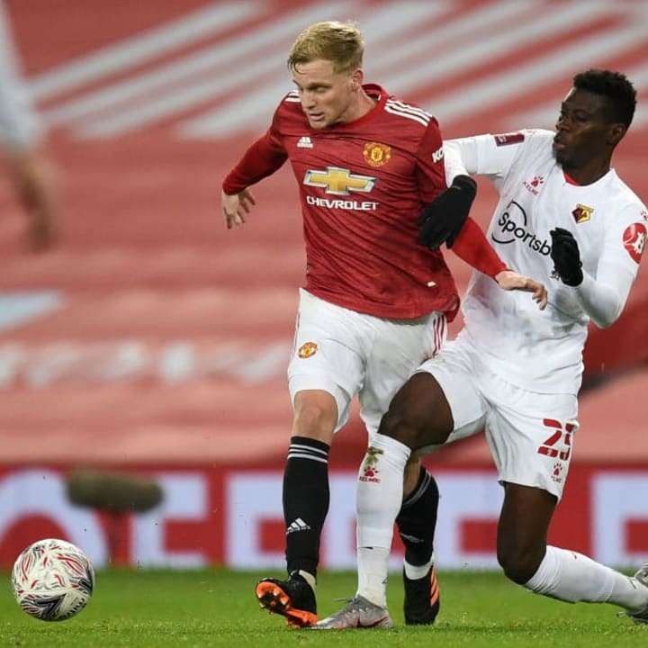 Sarr played well for Watford