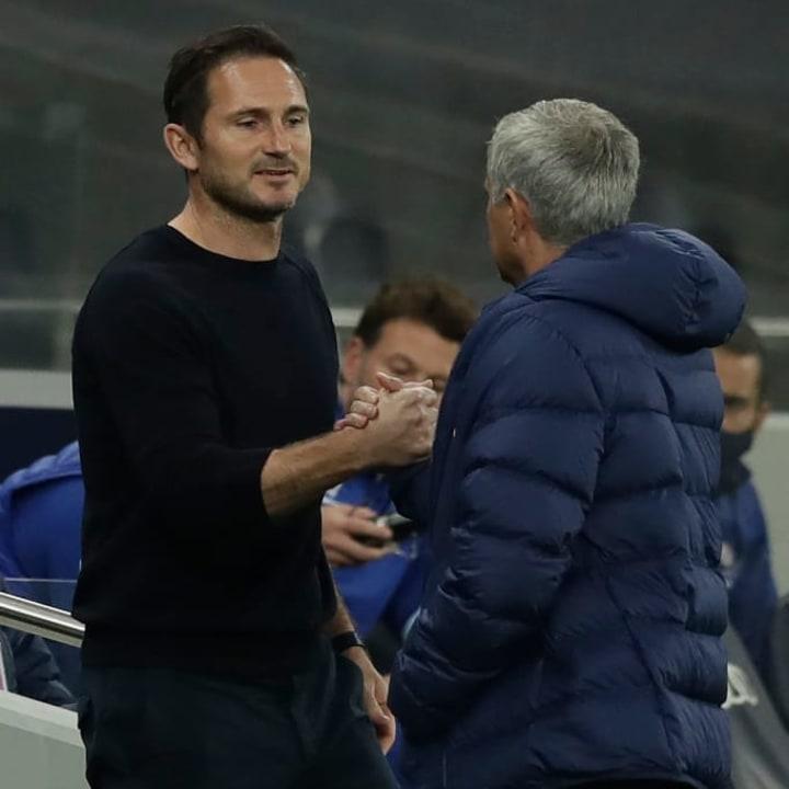 Lampard won two Premier League titles under Mourinho