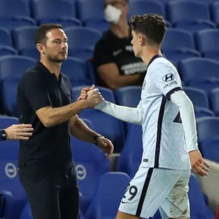 Havertz hopes Frank Lampard will improve him as a player