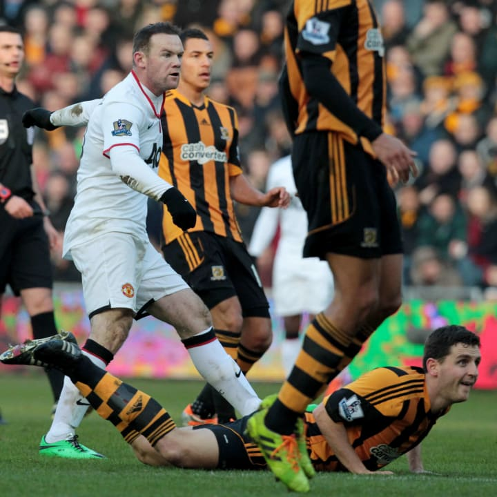 Rooney scored a screamer at Hull in 2013