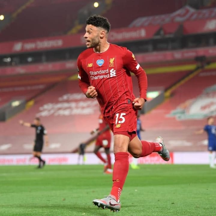 Alex Oxlade-Chamberlain could make his first appearance of the season