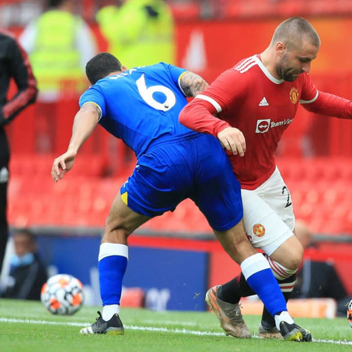 Allan struggled to get a foothold for Everton