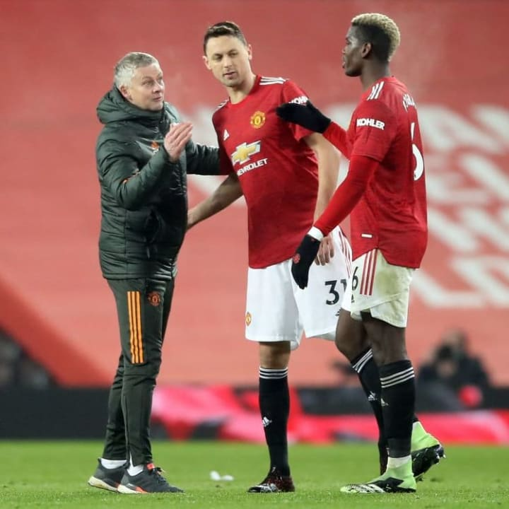 Solskjaer said he is not thinking about himself