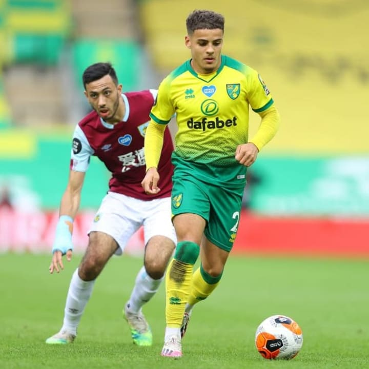 Aarons impressed in the Premier League in 2019/20, even though Norwich were relegated