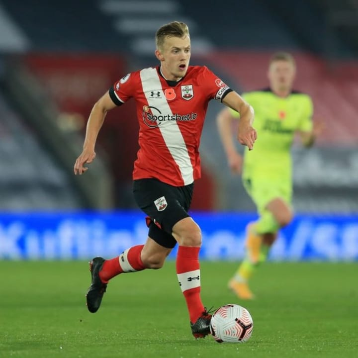 Ward-Prowse put in another outstanding performance