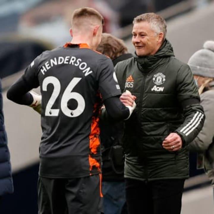 Henderson is impressing Ole Gunnar Solskjaer