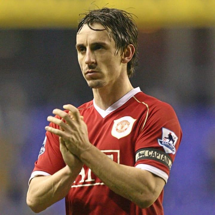 Gary Neville - Manchester United captain