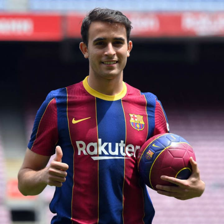 Eric Garcia is back at Barcelona after four years at Man City