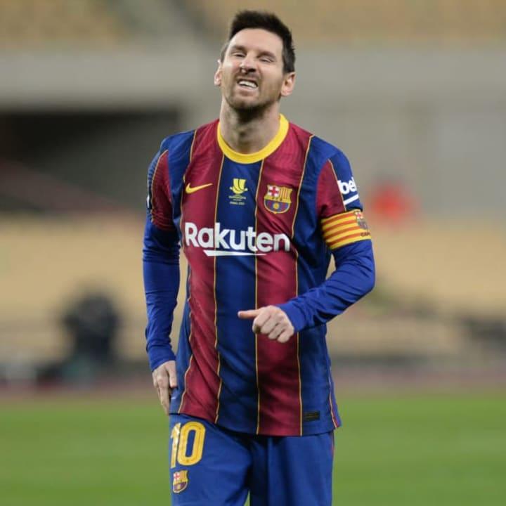 Messi had a tough week