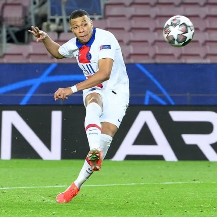 Mbappe is under contract at PSG until 2022