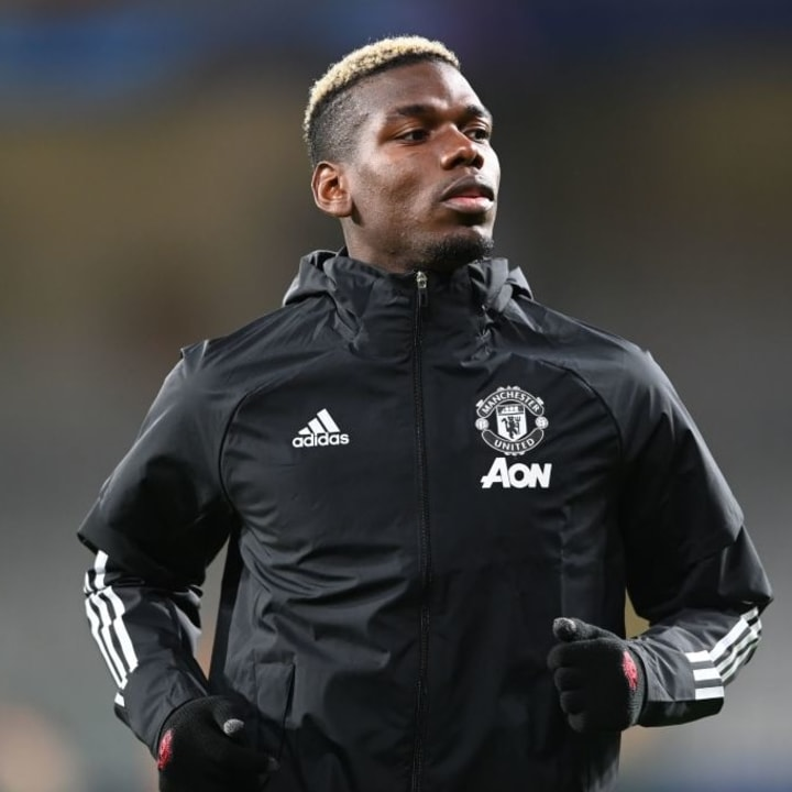 Pogba played just half an hour against Istanbul Basaksehir