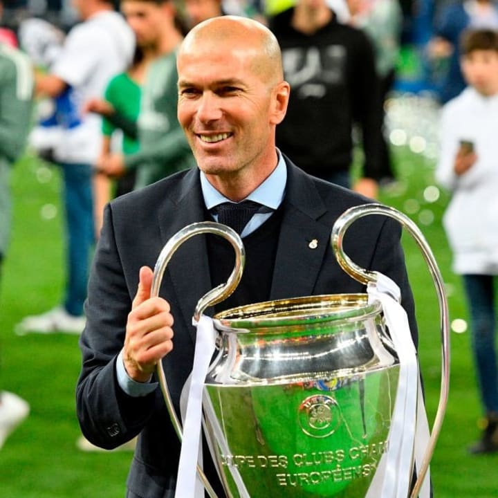 Real Madrid needed a manager in 2018 when Zinedine Zidane resigned
