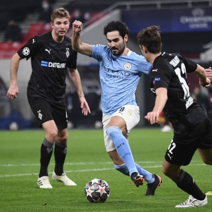 Gundogan stepped up in the absence of De Bruyne