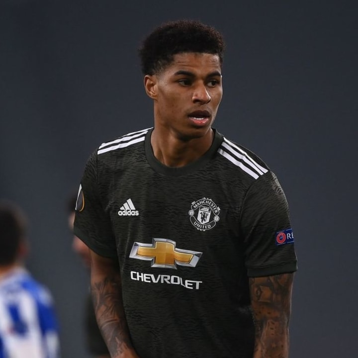 Marcus Rashford missed a number of early chances