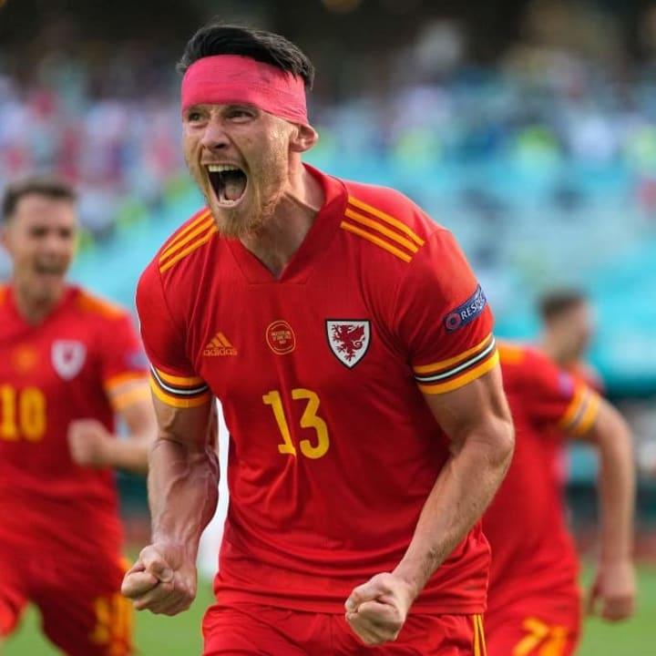 Kieffer Moore got Wales back level