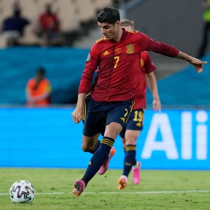 Morata missed some crucial chances