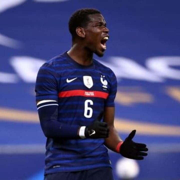 Pogba has previously spoken about joining Real Madrid