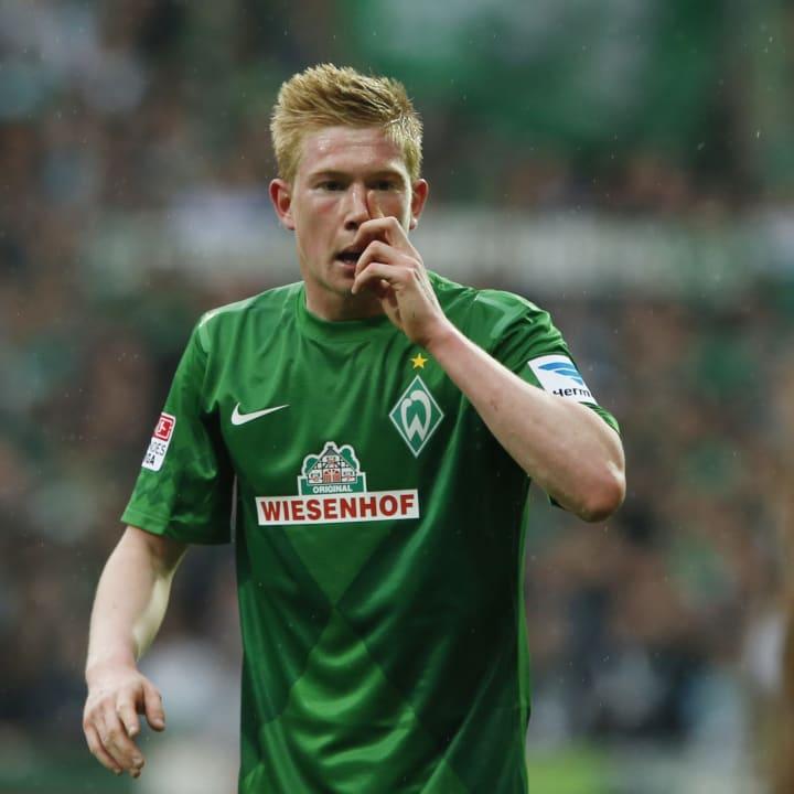Kevin De Bruyne bei Werder