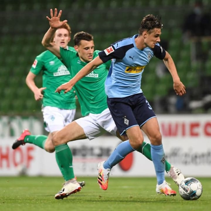 Bester Spieler auf dem Feld: Florian Neuhaus