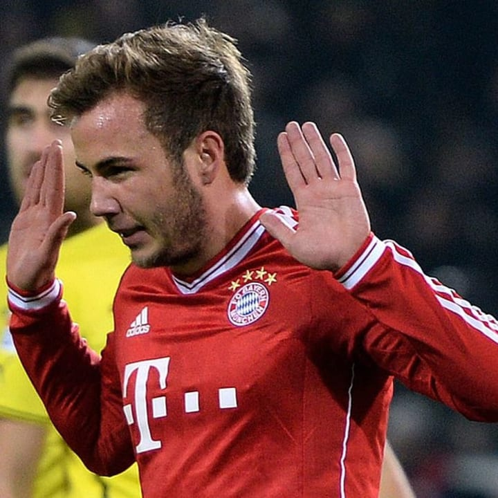 Gotze scored on his return to Signal Iduna Park after a controversial move