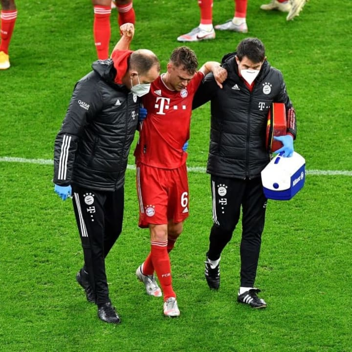 Kimmich's injury comes as a huge blow
