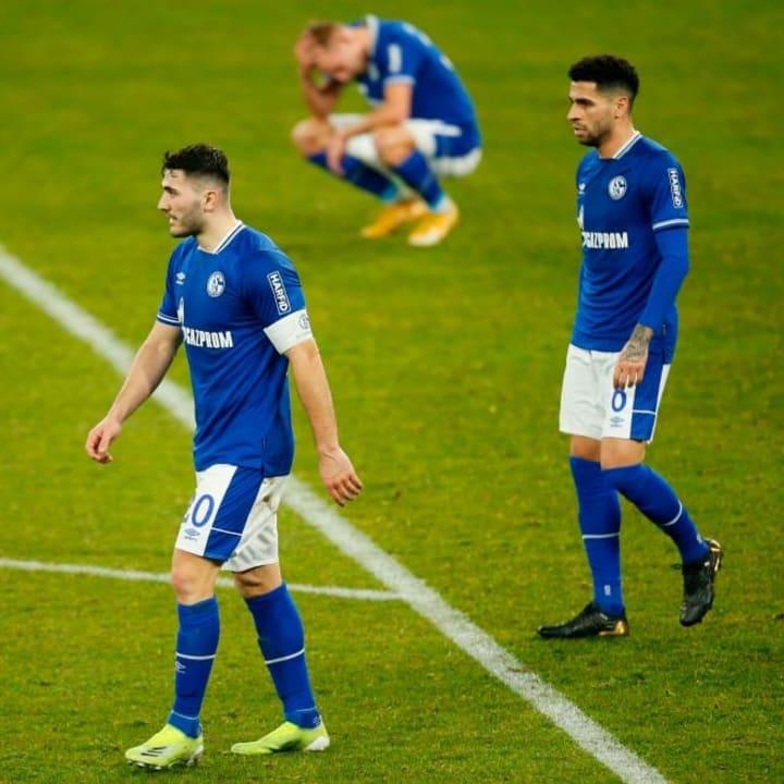Schalke steht längst mit dem Rücken zur Wand
