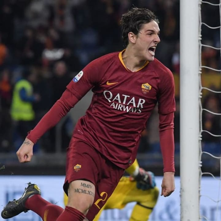 Nicolo Zaniolo has impressed since joining Roma two years ago.