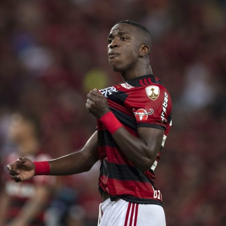 Real splashed out on Vinicius having barely watched him