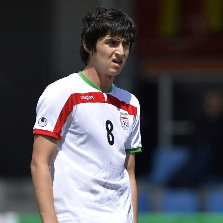 Azmoun was dubbed the 'Iranian Messi' early in his career