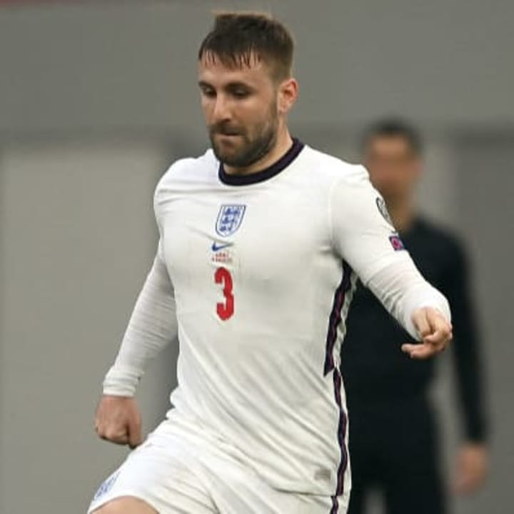 Luke Shaw has played his way back into the England squad